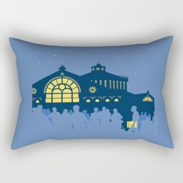 Sant Antoni, Barcelona Rectangular Pillow