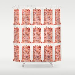 Hawa Mahal – Palace of the Winds in Jaipur, India Shower Curtain