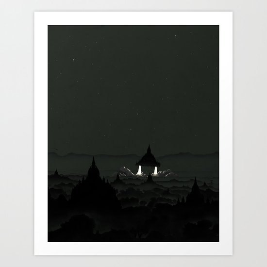 Crepuscule Art Print