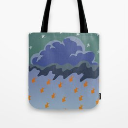 Stars and Fish Tote Bag