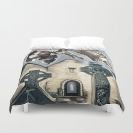 The Haunting of Burrishoole Abbey Duvet Cover