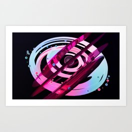 Jelly world Art Print