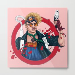 who u gonna call Metal Print