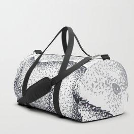 Red panda Dots Duffle Bag