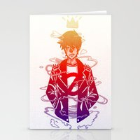 prince Stationery Cards featuring Prince by Lance Phillips
