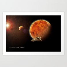 Expedition 2092 Art Print
