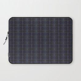 Backsplash Square Glass Spirals Laptop Sleeve