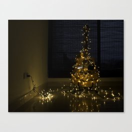 Hear the lights Canvas Print