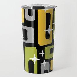 Retro Mid Century Modern Abstract Pattern 617 Travel Mug