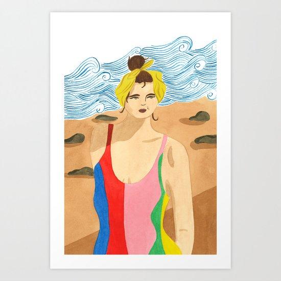 Mara Hoffman Swimwear Art Print
