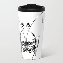 Beaded Masquerade Travel Mug