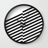 bands Wall Clocks featuring Blacknote Bands by blacknote