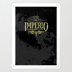 Harry Potter Curses: Imperio Art Print