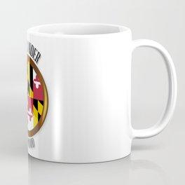 Maryland Proud Flag Button Coffee Mug