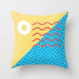 Memphis Style N°2 Throw Pillow