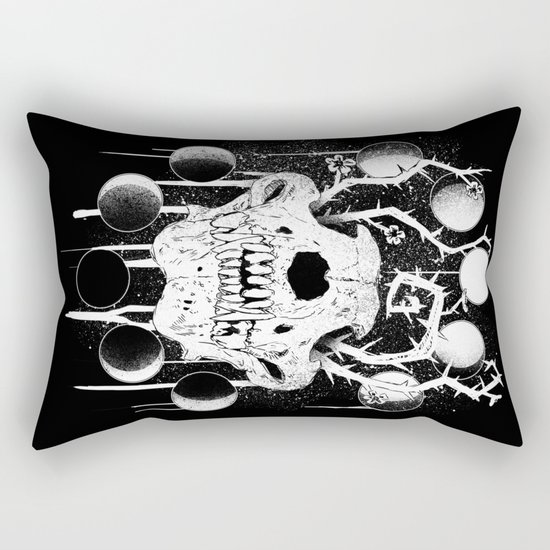 Wings of Sin Collaboration Rectangular Pillow