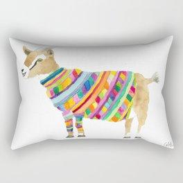 Goat in a Sweater Rectangular Pillow