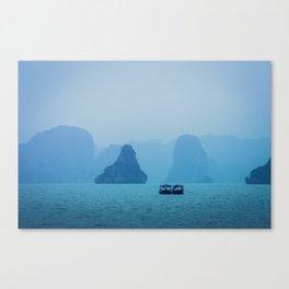 Ha Long Blues Canvas Print