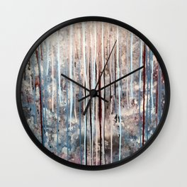 Blue Away Wall Clock