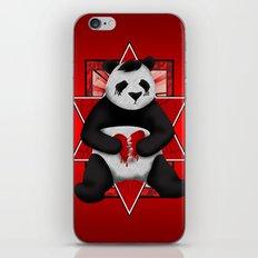 Emo Panda iPhone & iPod Skin