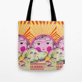 Tarot card-The Sun-Le soleil Tote Bag