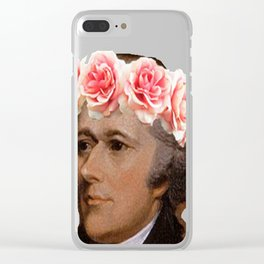 too pure for this world Clear iPhone Case
