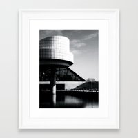 cleveland Framed Art Prints featuring Cleveland Rocks by Elle Maxam