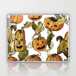 halloween party pumpkin Laptop & iPad Skin