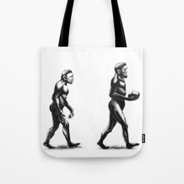 Bowling Evolution Tote Bag