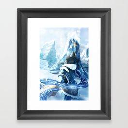 Changing Currents Framed Art Print