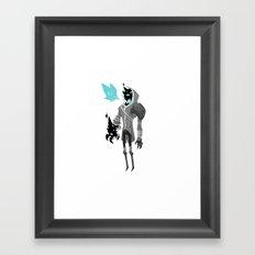 Hood. Framed Art Print