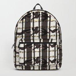 bird plaid Backpack
