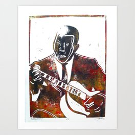 Muddy Waters 2/3 Art Print