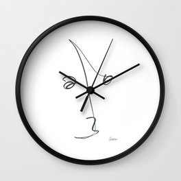 Demeter Moji d23 4-2 w Wall Clock