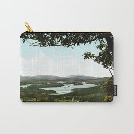 Lower Saranac Lake, Adirondack Mountains, New York, 1902 Carry-All Pouch
