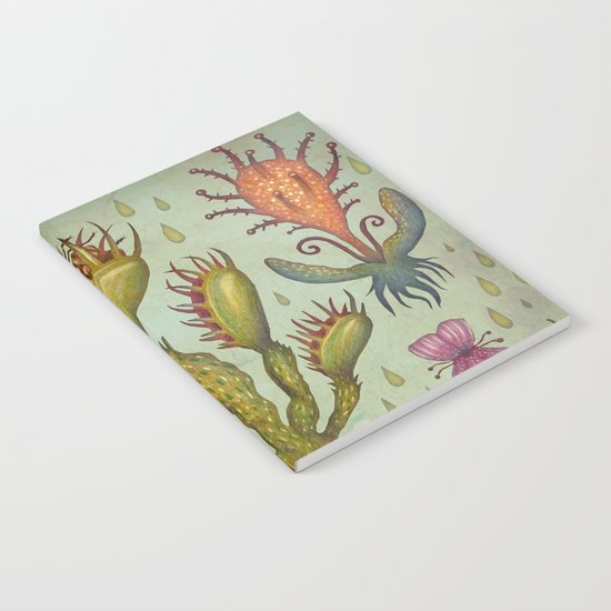 Carnivorous plants Notebook