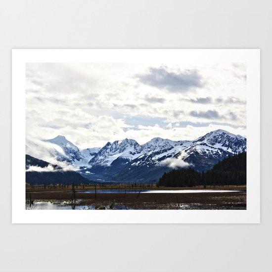 Beautiful Alaska Art Print