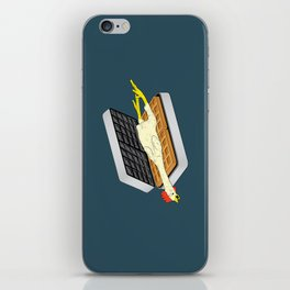 Rubber Chicken & Waffles iPhone Skin