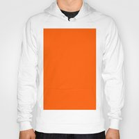pantone Hoodies featuring Orange (Pantone) by List of colors