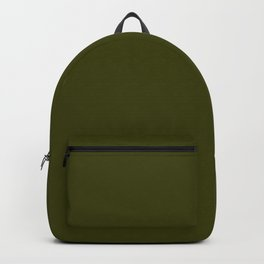 Dark olive Backpack