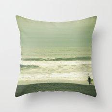 Surfacing Throw Pillow