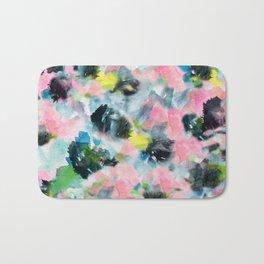Abstract Floral Bath Mat