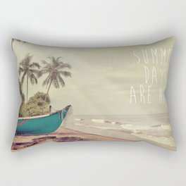 Summer Days Are Here Rectangular Pillow