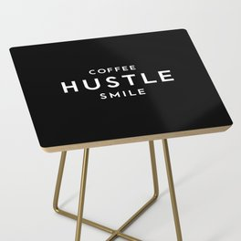 Coffee Hustle Smile Side Table