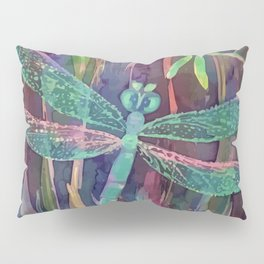 Dragonflies in blue Pillow Sham