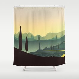 Tuscany Fairytale Shower Curtain