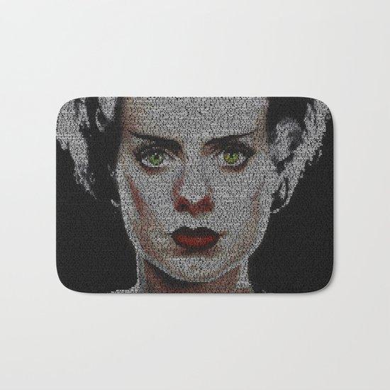The Bride of Frankenstein Screenplay Print Bath Mat
