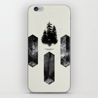 PILLARS OF CREATION iPhone & iPod Skin