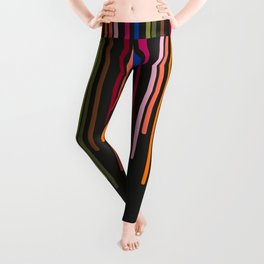 Rousing Colorful Stripes Leggings