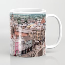 Colorful Buildings in Oxford | London UK City Architecture Urban Photography Coffee Mug